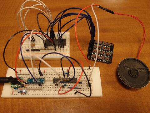 トラ技Jr.の音声合成マシンをDIP ARMで作ってみました