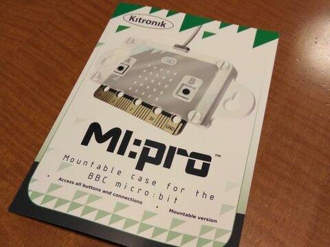 micro:bitにMI:proケースをつけてみた