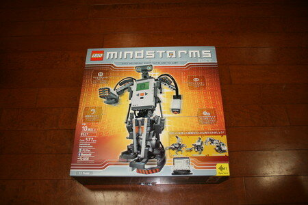 MINDSTORMS NXTが来ました!