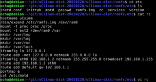 MC68EZ328 SBCのネットワーク環境を改善しました